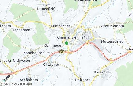 Stadtplan Simmern/Hunsrück