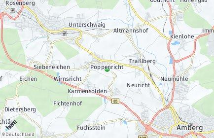 Stadtplan Amberg-Sulzbach
