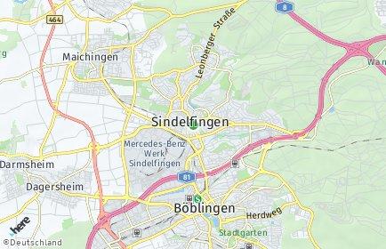 Stadtplan Sindelfingen