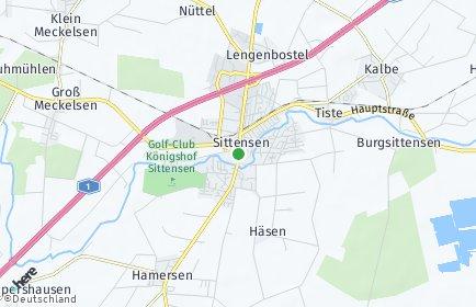Stadtplan Sittensen
