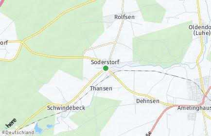 Stadtplan Soderstorf