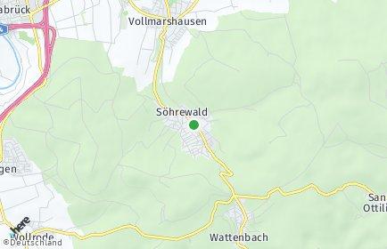 Stadtplan Söhrewald