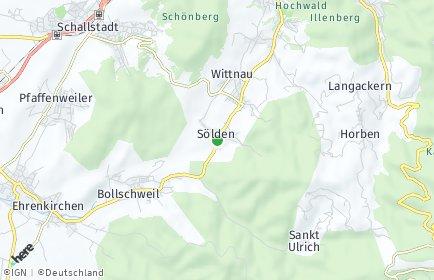 Stadtplan Sölden