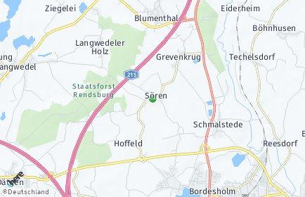Stadtplan Sören