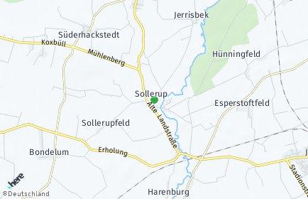 Stadtplan Sollerup
