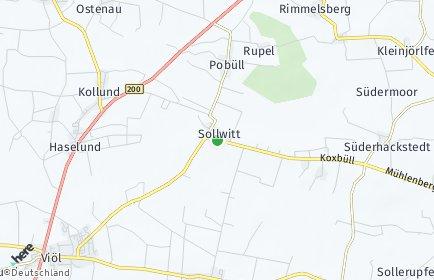 Stadtplan Sollwitt