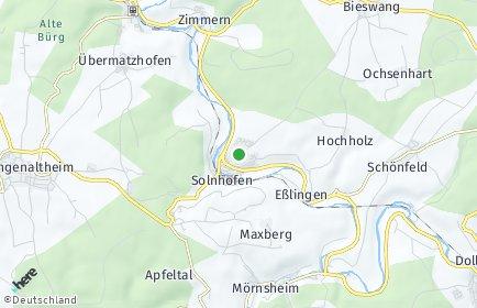 Stadtplan Solnhofen