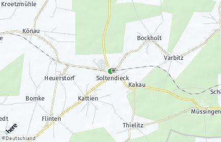 Stadtplan Soltendieck