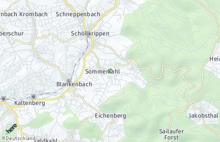 Stadtplan Sommerkahl