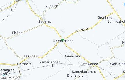 Stadtplan Sommerland
