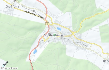 Stadtplan Sondershausen