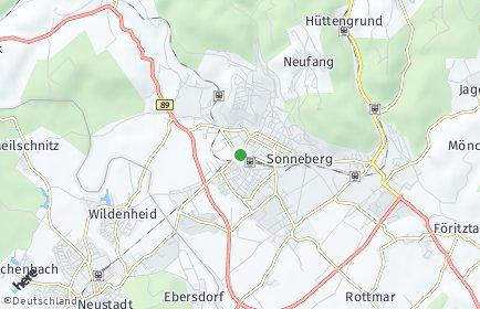 Stadtplan Sonneberg