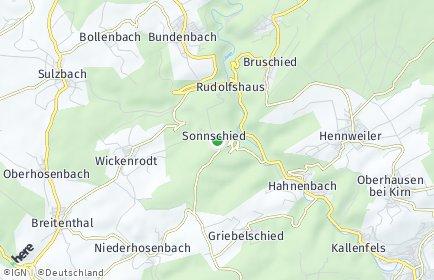 Stadtplan Sonnschied