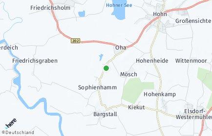 Stadtplan Sophienhamm