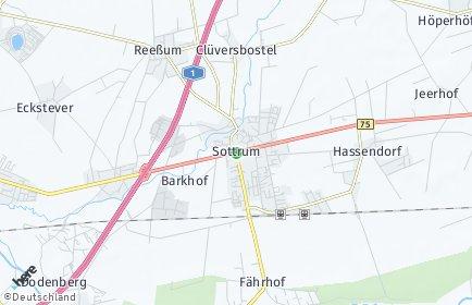 Stadtplan Sottrum