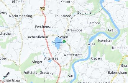 Stadtplan Soyen