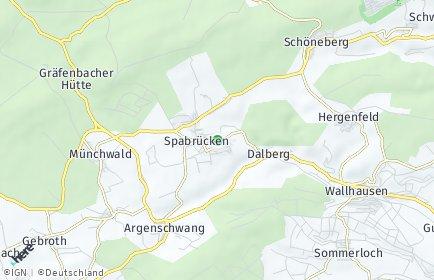 Stadtplan Spabrücken