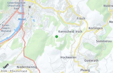 Stadtplan Trier-Saarburg