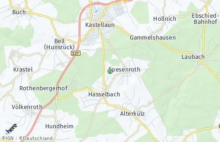 Stadtplan Spesenroth