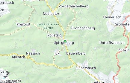 Stadtplan Spiegelberg