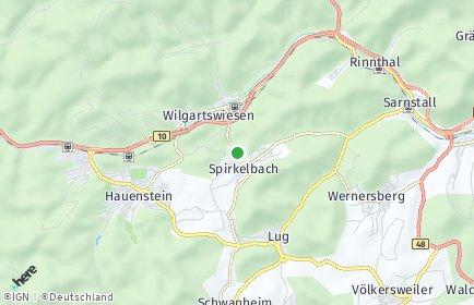 Stadtplan Spirkelbach