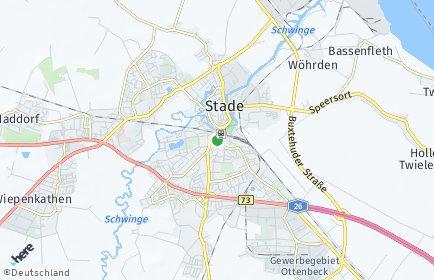 Stadtplan Stade