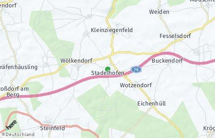 Stadtplan Stadelhofen