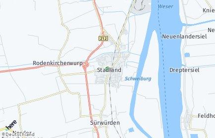 Stadtplan Stadland