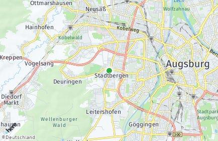 Stadtplan Stadtbergen