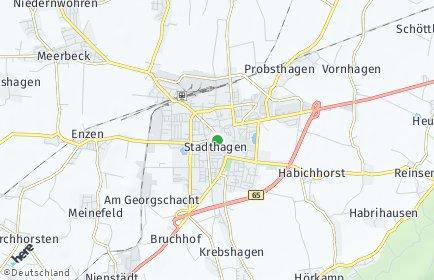 Stadtplan Stadthagen