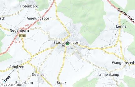Stadtplan Stadtoldendorf