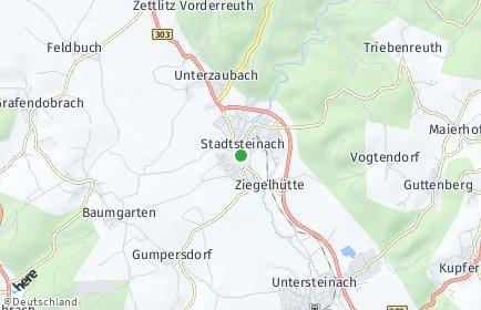 Stadtplan Stadtsteinach