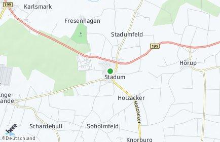 Stadtplan Stadum
