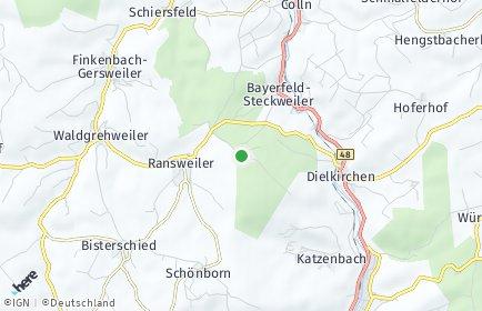 Stadtplan Stahlberg