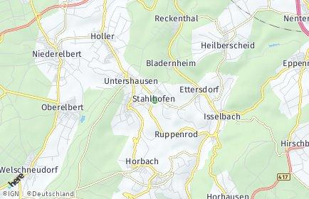 Stadtplan Stahlhofen (Westerwald)