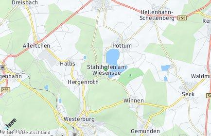 Stadtplan Stahlhofen am Wiesensee