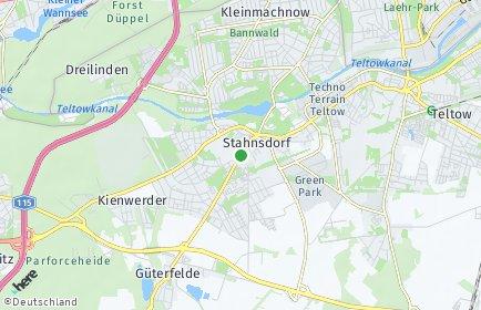 Stadtplan Stahnsdorf