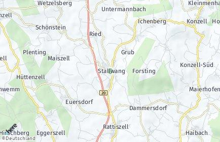 Stadtplan Stallwang