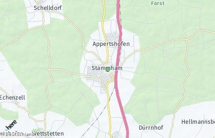 Stadtplan Stammham bei Ingolstadt