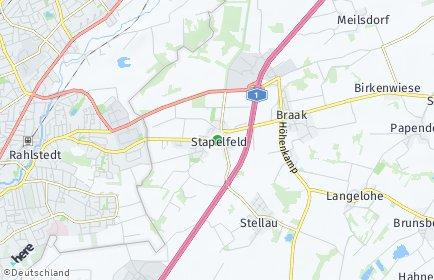 Stadtplan Stapelfeld