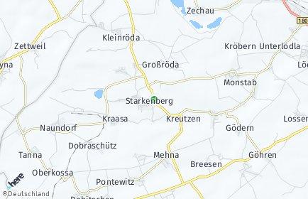 Stadtplan Starkenberg