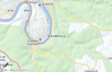 Stadtplan Starkenburg
