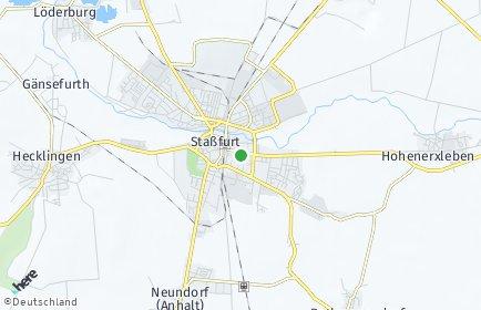 Stadtplan Staßfurt