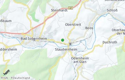 Stadtplan Staudernheim