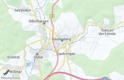 Stadtplan Staufenberg (Hessen)