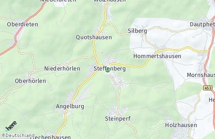 Stadtplan Steffenberg