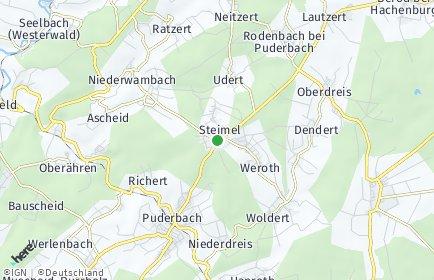 Stadtplan Steimel