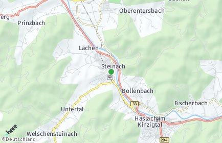 Stadtplan Steinach (Baden)