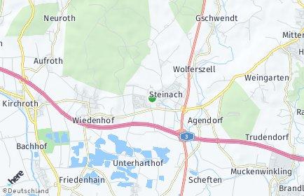 Stadtplan Steinach (Niederbayern)