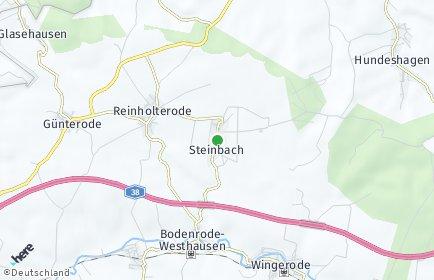 Stadtplan Steinbach (Eichsfeld)